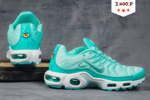Кроссовки Nike Air Max Plus Satin Pack GREEN/WHITE