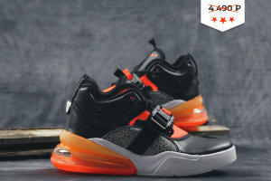 Кроссовки Nike Air Force 270 black/orange/white