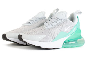 Кроссовки Nike Air Max 270 Pure Platinum Silver Grey