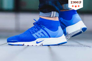 Кроссовки Nike Air Presto Ultra Flyknit Blue
