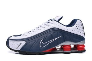 Кроссовки Nike shox R4 neymar blue\white\red