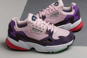Кроссовки Adidas Falcon w pink/purple