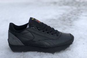 Reebok aztec classic Leather black