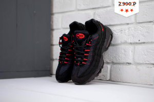 Кроссовки Nike Air Max 95 Bkack\Red