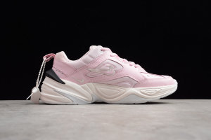 Кроссовки Nike M2K TEKNO white Pink Foam/Black/Phantom/White