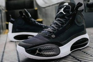 Air Jordan Xxxiv Pf Eclipse 34 Black\White