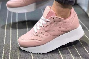Кроссовки Reebok CL Leather utility pink 1