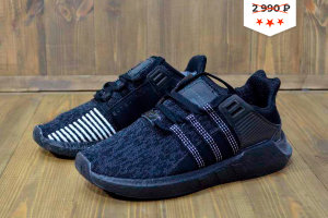 Кроссовки Adidas EQT Support 93/17 black/grey